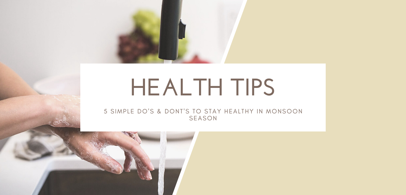 Health Tips: 5 Simple Do's & Dont's to Stay Healthy in Monsoon Season
