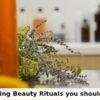 stress busting beauty rituals